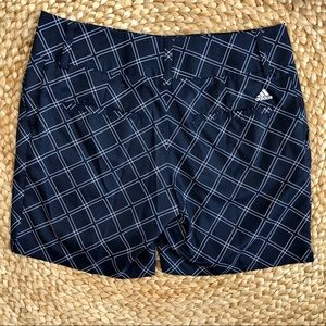 Adidas |Golf Climalite Diamond Print Shorts